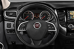 Car pictures of steering wheel view of a 2017 Fiat Fullback Sport Pack 4 Door Pick Up