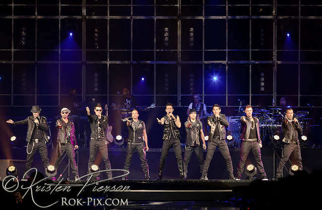 New Kids on the Block and Back Street Boys perform at the Mohegan Sun Arena on June 2, 2011.