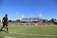 Cary, NC - Sunday October 22, 2017: Sahlen's Stadium was sold out during an International friendly match between the Women's National teams of the United States (USA) and South Korea (KOR) at Sahlen's Stadium at WakeMed Soccer Park. The U.S. won the game 6-0.