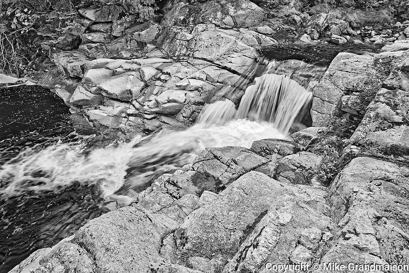 Mary Ann Falls. Cabot Trail. Cape Breton Island. Appalachian Mountain chain.  <br />Cape Breton Highlands National Park<br />Nova Scotia<br />Canada<br />Cape Breton Highlands National Park<br />Nova Scotia<br />Canada