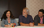 Deborah Van Valkenburgh & Michael Beck & Terry Michos - The Warriors - 30 year reunion during Q & A at the Super Megashow & Comic Fest on August 30, 2009 in Secaucus, New Jersey (Photo by Sue Coflin/Max Photos)