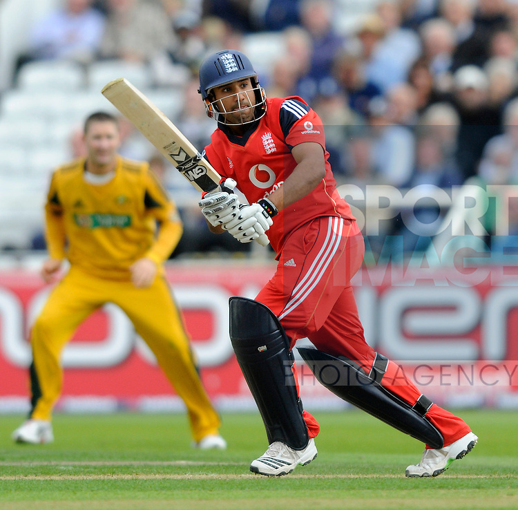 England's Ravi Bopara fails to get any significant runs on the board as he falls for 18.