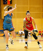 29th December 2019; Bendat Basketball Centre, Perth, Western Australia, Australia; Womens National Basketball League Australia, Perth Lynx versus Canberra Capitals; Marina Whittle of the Perth Lynx drives to the basket - Editorial Use
