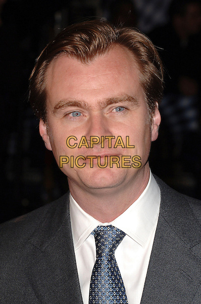 "CHRISTOPHER NOLAN.Attending The UK Premiere of ""The Prestige"", .Odeon West End, London, England, .5th November 2006..portrait headshot .Ref: BEL.www.capitalpictures.com.sales@capitalpictures.com.©Tom Belcher/Capital Pictures."