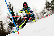 2nd February 2019, Maribor, Slovenia;  Emelie Wikstroem of Sweden in action during the Audi FIS Alpine Ski World Cup Women's Slalom Golden Fox on February 2, 2019 in Maribor, Slovenia