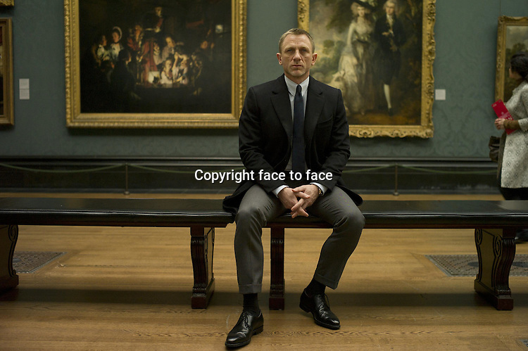 """Daniel Craig (""""James Bond"""") in Skyfall...- Editorial Use Only -..Supplied by face to face"""