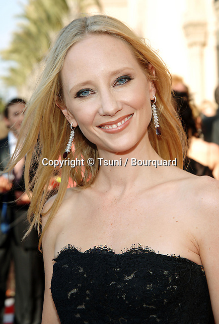 Anne Heche at the Creative Emmys Awards at the Shrine Auditorium in Los Angeles. September 11, 2005.