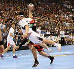 10.01.2019, Mercedes Benz Arena, Berlin, GER, Handball WM 2019, Deutschland vs. Korea, im Bild <br /> Fabian Wiede (GER #10), SEO Seunghyun (Korea #23)<br /> <br />      <br /> Foto © nordphoto / Engler