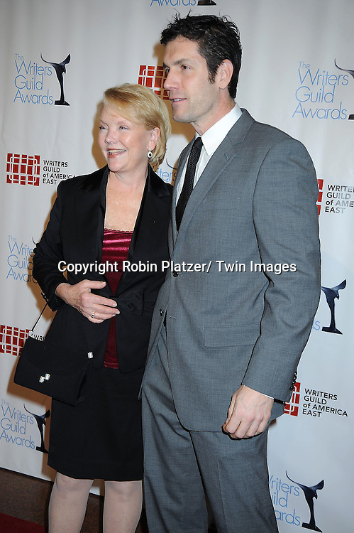 Erika Slezak and Frank Valentini attending The 63rd Annual Writers Guild Awards on February 5, 2011 at the AXA Equitable Center in New York City.