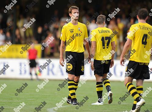 2012-08-23 / Voetbal / seizoen 2012-2013 / Berchem Sport / Nico Van der Linden..Foto: Mpics.be