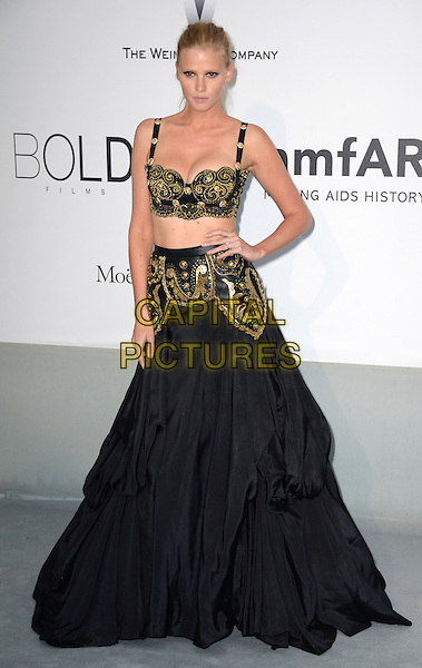 CAP D'ANTIBES, FRANCE - MAY 22: Lara Stone attends amfAR's 21st Cinema Against AIDS Gala, Presented By WORLDVIEW, BOLD FILMS, And BVLGARI at the 67th Annual Cannes Film Festival on May 22, 2014 in Cap d'Antibes, France. <br /> CAP/CAS<br /> &copy;Bob Cass/Capital Pictures