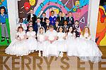 Children from CBS Primary School, Clounalour, who made their First Holy Communion on Saturday at St John's Church, Tralee<br /> Ms. Coffey's Class:  front row, left to right: Clara Faggetter, Milena Ustianowska, Meagan Diggins, Jodie O'Mahony, Anisha Flynn, Kerry Falvey, Elizabeth Burke.<br /> 2nd row: Emmanuel O Akpobi, Alex Clifford, Paul Burke, Seamus O'Neill, Liam O'Reilly Moroney, Orobosa Ogunmwonyi, Jason Martin.<br /> 3rd row: Shay Doyle, Tyrese Flanagan, Pavel Krok, Daniel Krumina, Colm Browne
