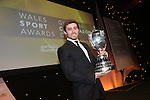 Wales Sport Awards 2013<br /> BBC Wales Sports Personality of the Year 2013 Leigh Halfpenny.<br /> 09.11.13<br /> ©Steve Pope-SPORTINGWALES