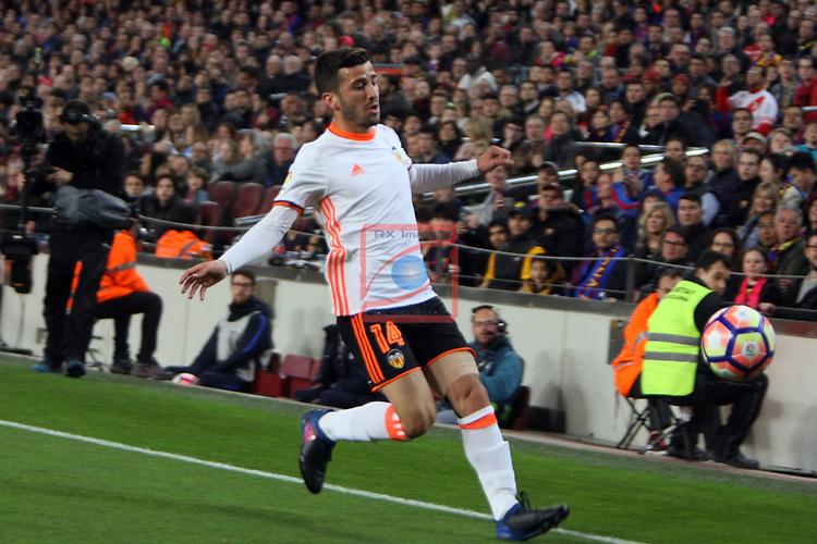 League Santander 2016/2017. Game: 28.<br /> FC Barcelona vs Valencia CF: 4-2.<br /> Gaya.