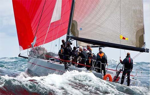 France's Gouy family with their Ker 39 Inis Mor, the RORC Yacht of the Year in 2013