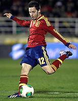 Spain's Sarabia during an International sub21 match. March 21, 2013.(ALTERPHOTOS/Alconada) /NortePhoto