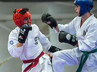 2018 Oceania Taekwon-Do Federation Championships at ASB Sports Centre in Wellington, New Zealand on Sunday, 15 July 2018. Photo: Dave Lintott / lintottphoto.co.nz