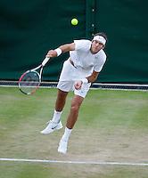 24-06-11, Tennis, England, Wimbledon, Juan Martin Del Potro