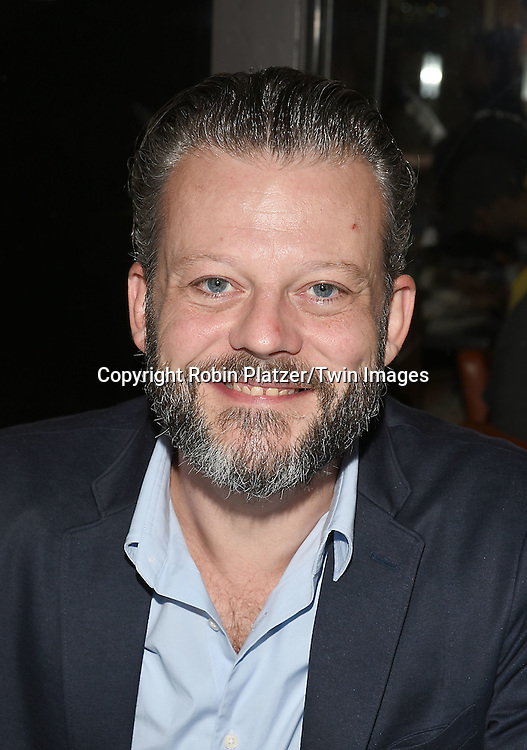 Jeremy Kushnier attends the Broadway Cares/Equity Fights Aids Flea Market and Grand Auction on September 25, 2016 at the Music Box Theatre and in Shubert Ally in New York, New York, USA. <br /> <br /> photo by Robin Platzer/Twin Images<br />  <br /> phone number 212-935-0770