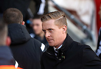 Pictured: Swansea manager Garry Monk Sunday 01 February 2015<br /> Re: Premier League Southampton v Swansea City FC at ST Mary's Ground, Southampton, UK.
