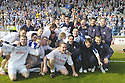 14/04/2007       Copyright Pic: James Stewart.File Name : sct_jspa09_raith_rovers_v_morton.MORTON CELEBRATE WINNING THE LEAGUE....James Stewart Photo Agency 19 Carronlea Drive, Falkirk. FK2 8DN      Vat Reg No. 607 6932 25.Office     : +44 (0)1324 570906     .Mobile   : +44 (0)7721 416997.Fax         : +44 (0)1324 570906.E-mail  :  jim@jspa.co.uk.If you require further information then contact Jim Stewart on any of the numbers above.........