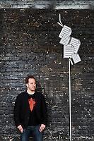 Drew Houston & Arash Ferdowski pictures: Executive portrait photography of Drew Houston and Arash Ferdowski of Dropbox by San Francisco corporate photographer Eric Millette