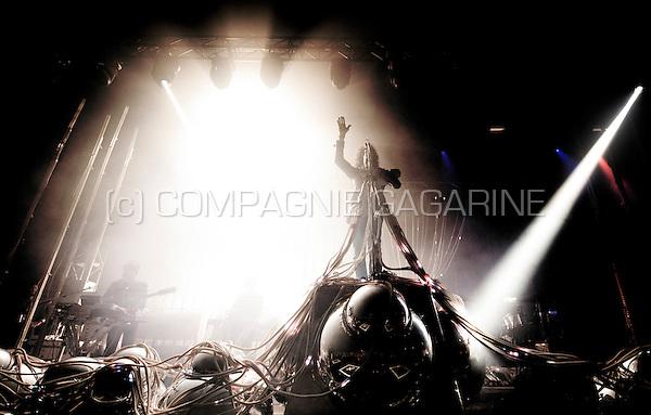 American rock band The Flaming Lips in concert at the Crammerock festival in Stekene (Belgium, 07/09/2013)