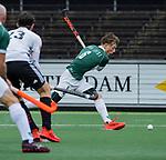 AMSTELVEEN - Nick van Trigt (R'dam)  tijdens de hoofdklasse competitiewedstrijd heren, AMSTERDAM-ROTTERDAM (2-2). COPYRIGHT KOEN SUYK