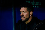 Head Coach Diego Simeone of Atletico de Madrid during the La Liga 2018-19 match between Atletico de Madrid and Athletic de Bilbao at Wanda Metropolitano, on November 10 2018 in Madrid, Spain. Photo by Diego Gouto / Power Sport Images