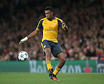 Arsenal's Alex Iwobi in action during the Champions League group A match at the Emirates Stadium, London. Picture date September 28th, 2016 Pic David Klein/Sportimage