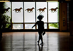 ELMONT, NY - JUNE 09: Scenes from during Belmont Stakes Day at Belmont Park on June 9, 2018 in Elmont, New York. (Photo by Scott Serio/Eclipse Sportswire/Getty Images)