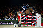 Olivier Philippaerts of Belgium riding Cabrio van de Heffinck in action during the Longines Speed Challenge competition as part of the Longines Hong Kong Masters on 13 February 2015, at the Asia World Expo, outskirts Hong Kong, China. Photo by Victor Fraile / Power Sport Images