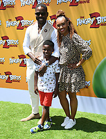 """10 August 2019 - Westwood, California - Sterling K. Brown, Ryan Michelle Bathe. Sony's """"The Angry Birds Movie 2"""" Los Angeles Premiere held at Regency Village Theater.   <br /> CAP/ADM/BT<br /> ©BT/ADM/Capital Pictures"""
