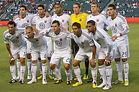 DC United starting eleven. CD Chivas USA beat DC United 1-0 at Home Depot Center stadium in Carson, California on Sunday August 29, 2010.