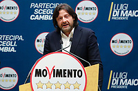 Salvatore Caiata<br /> Roma 29/01/2018. Presentazione dei candidati nelle liste uninominali del Movimento 5 Stelle.<br /> Rome January 29th 2018. Presentation of the candidates for Movement 5 Stars.<br /> Foto Samantha Zucchi Insidefoto