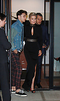NEW YORK, NY - NOVEMBER 13: Anwar Hadid and Yolanda Hadid leaving for the 2017 Glamour Women Of The Year Awards in New York City on November 13, 2017. <br /> CAP/MPI/RW<br /> &copy;RW/MPI/Capital Pictures