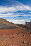 Haleakala National Park on the island of Maui, Hawaii, USA