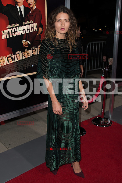 """November 20, 2012 - Beverly Hills, California - Karina Deyko at the """"Hitchcock"""" Los Angeles Premiere held at the Academy of Motion Picture Arts and Sciences Samuel Goldwyn Theater. Photo Credit: Colin/Starlite/MediaPunch Inc"""