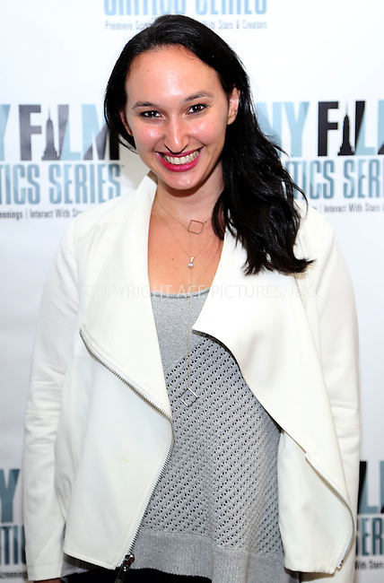 www.acepixs.com<br /> <br /> August 1 2016, New York City<br /> <br /> Producer Carly Hugo at the 'Five Nights In Maine' New York Film Critics Screening at the AMC Empire 25 theater on August 1, 2016 in New York City.<br /> <br /> By Line: Serena Xu/ACE Pictures<br /> <br /> <br /> ACE Pictures Inc<br /> Tel: 6467670430<br /> Email: info@acepixs.com<br /> www.acepixs.com