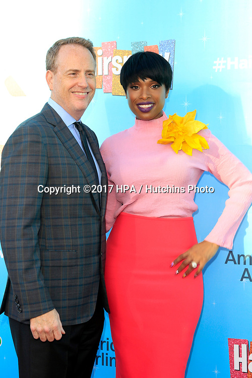 LOS ANGELES - JUN 9:  Bob Greenblatt, Jennifer Hudson at the NBC's 'Hairspray Live!' FYC Event at the ATAS Saban Media Center on June 9, 2017 in North Hollywood, CA