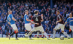Kenny Miller scores the opening goal for Rangers