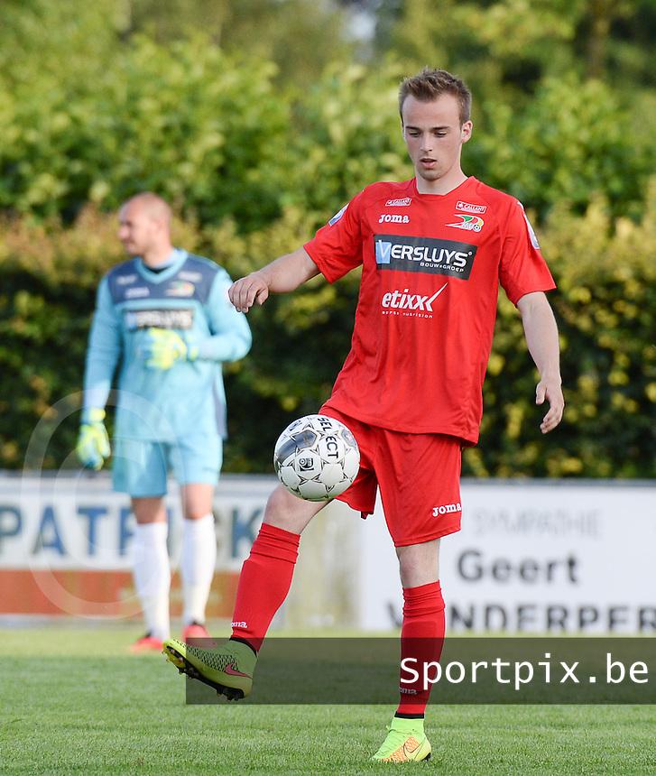 KV Oostende : Nils Pierre<br /> foto VDB / BART VANDENBROUCKE