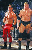 Chris Benoit 2003 RED TIGHTS<br /> BROCK LESNER<br /> Madison Square Garden<br /> Photo By John Barrett/PHOTOlink.net