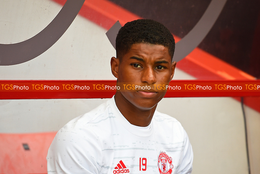 Marcus Rashford of Manchester United during AFC Bournemouth vs Manchester United, Premier League Football at the Vitality Stadium on 14th August 2016