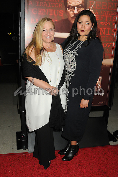 "27 October 2015 - Beverly Hills, California - Monica Levinson, Shivani Rawat. ""Trumbo"" Los Angeles Premiere held at the AMPAS Samuel Goldwyn Theater. Photo Credit: Byron Purvis/AdMedia"