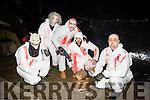 Pictured at the Halloween Festival in Knocknagoshel on Sunday night were l-r  Jeff Mynatt, Alan Heaslip, Steve Whittaker, Keith Darcy and Herbie Killington.