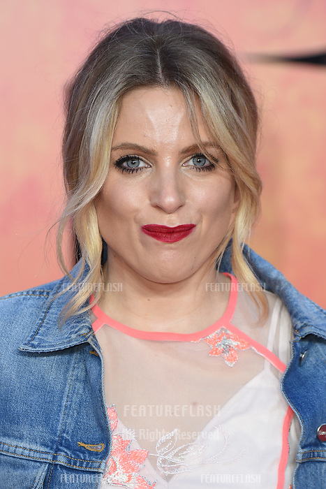 Olivia Cox arriving for the &quot;Rampage&quot; premiere at the Cineworld Empire Leicester Square, London, UK. <br /> 11 April  2018<br /> Picture: Steve Vas/Featureflash/SilverHub 0208 004 5359 sales@silverhubmedia.com