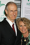 HOLLYWOOD, CA. - February 19: Actor James Cromwell and guest arrive at Global Green USA's 6th Annual Pre-Oscar Party held at Avalon Hollwood on Februray 19, 2009 in Hollywood, California.