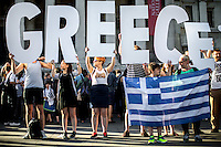 "29.06.2015 - ""Solidarity with Greece - NO to Austerity YES to Democracy!"""