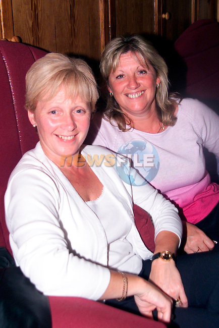 Paula Caffrey and Rita Carlyle enjoying a night in The Village, Bettystown..Picture:Newsfile